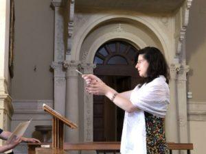 Il M° Letizia Butterin, docente del corso.