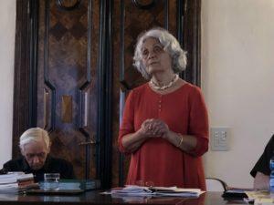 La prof.ssa Liliana Boni Baldo, docente del corso.